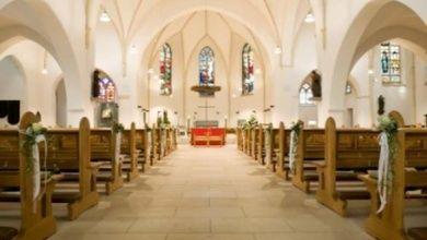 Auswahl der Kirche bei der Hochzeit