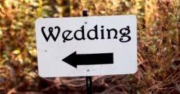 Lokalität für die Hochzeit